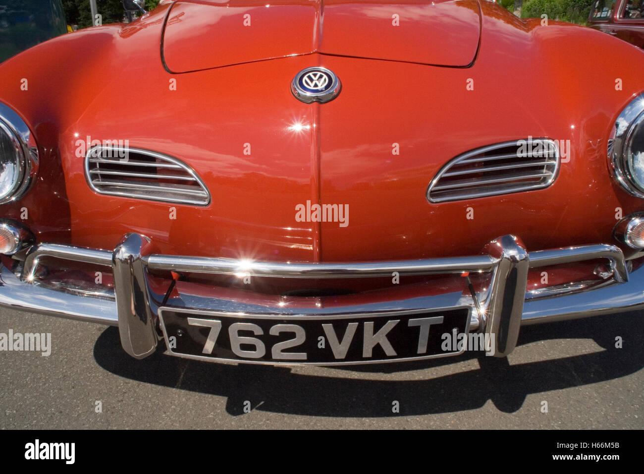 Volkswagen Karmann Ghia - Stock Image