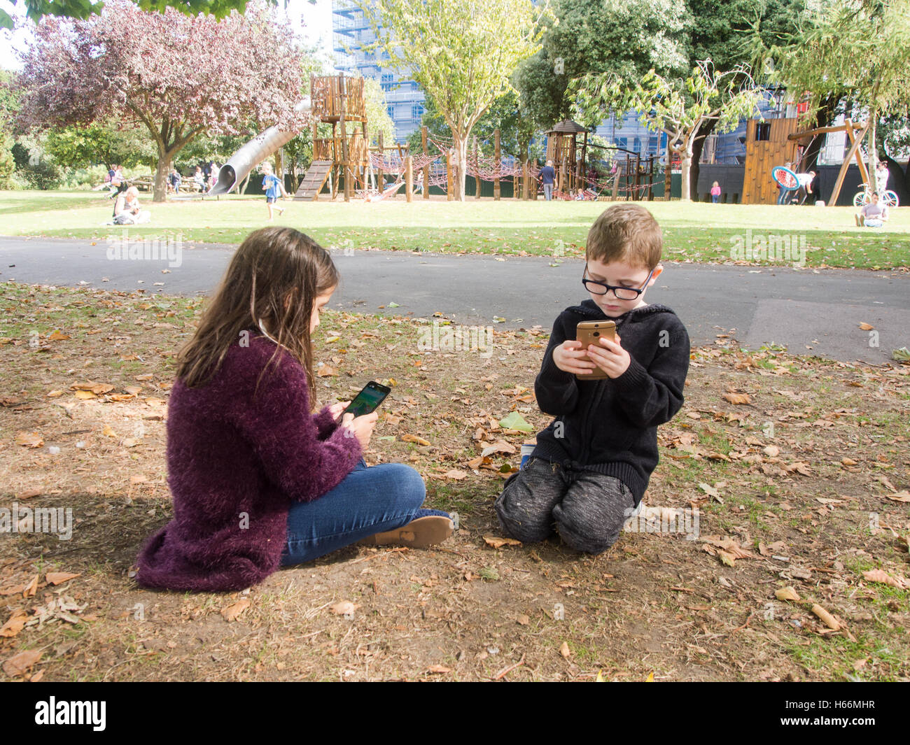 cell phones in public areas