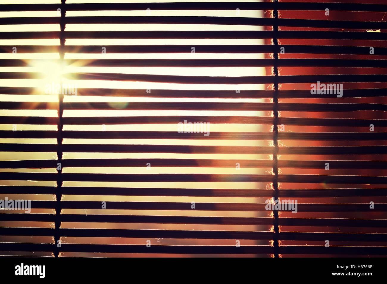 Sun Through Window With Blinds Stock Photos Amp Sun Through