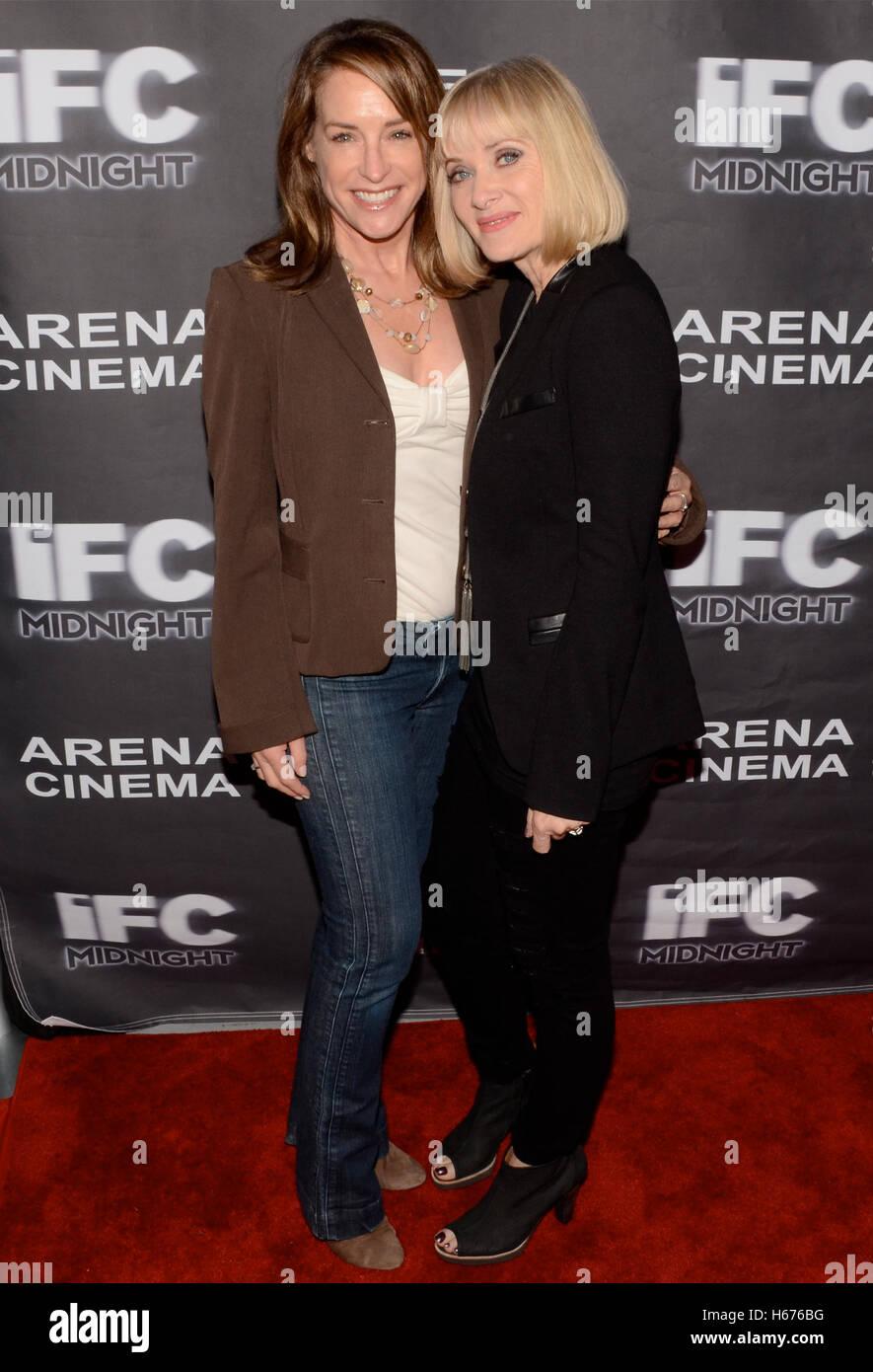 Amanda Wyss Photos amanda wyss and barbara crampton attend the los angeles