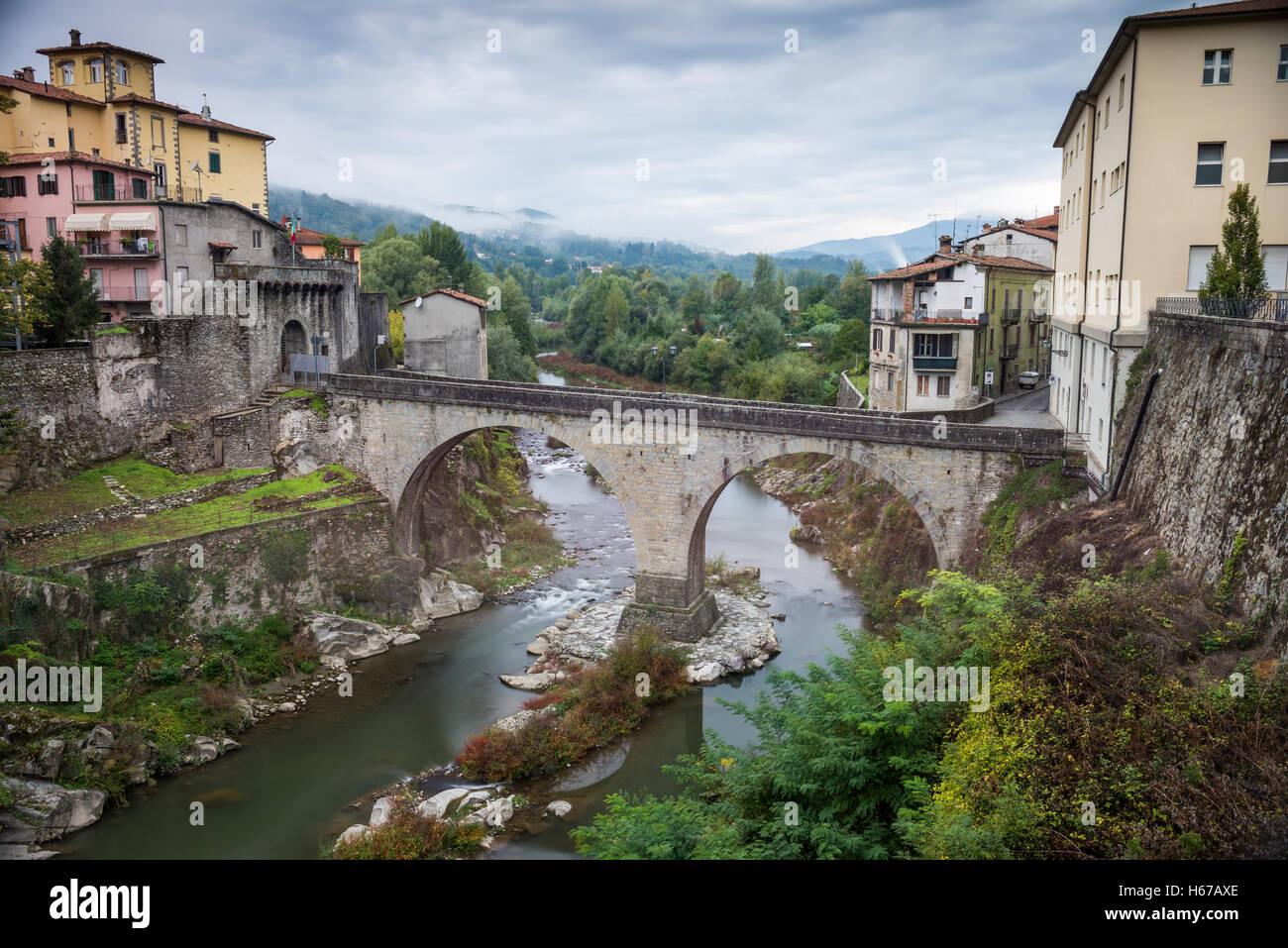 Castelnuovo di Garfagnana, Tuscany, Italy, EU, Europe - Stock Image