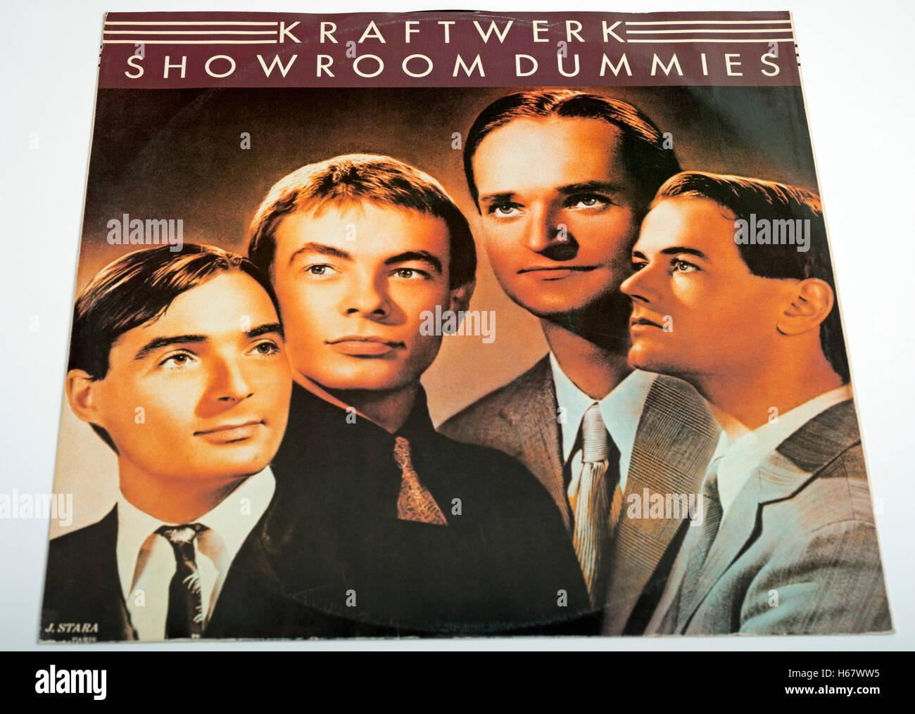 Showroom Dummies 12 inch single by German electro pop band Kraftwerk Stock Photo