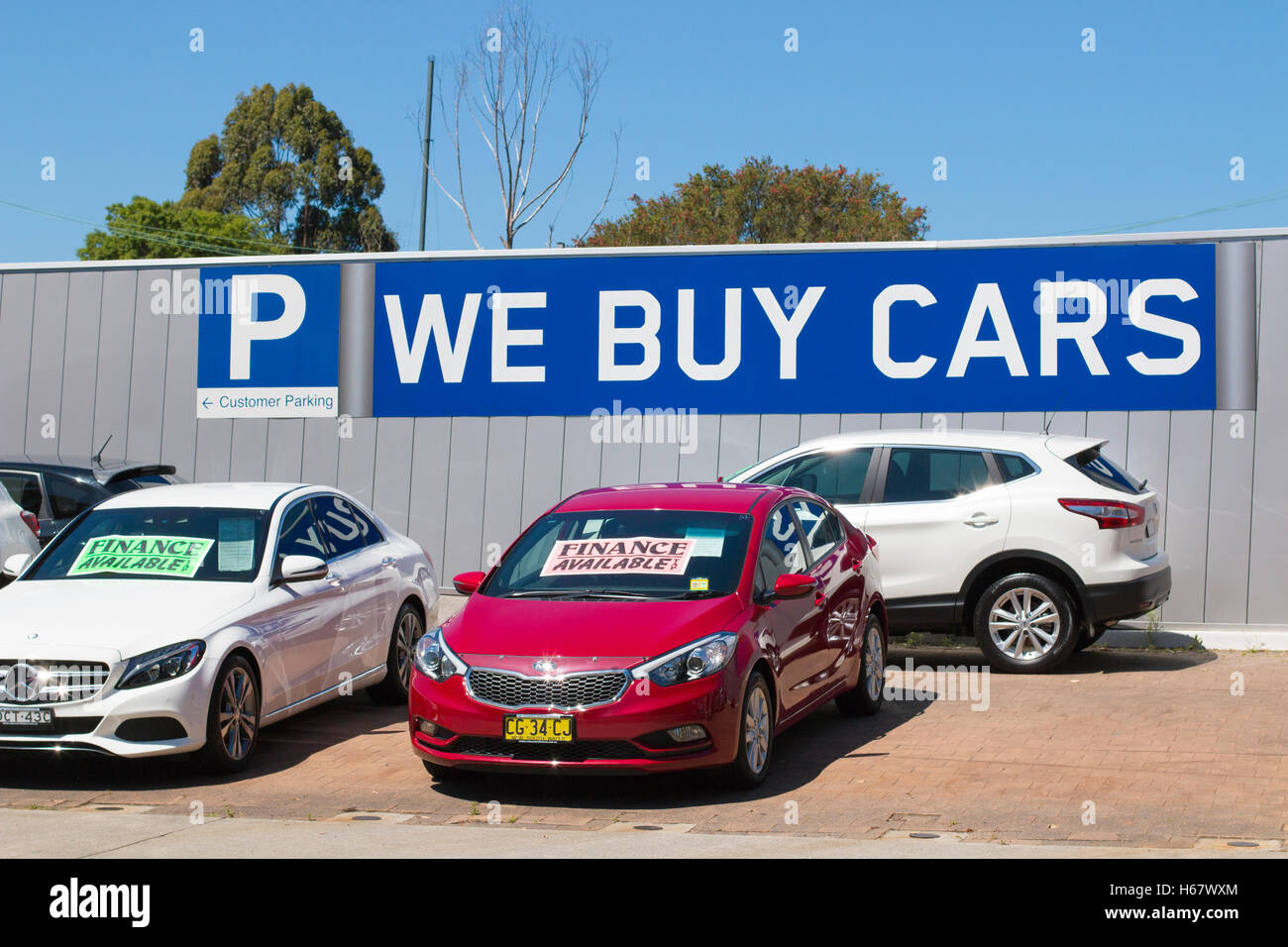 Used cars for sale at a car dealership in North Sydney,Australia ...