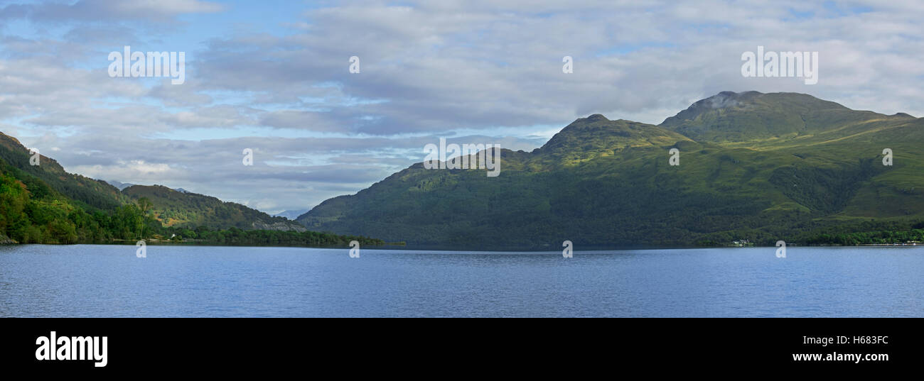 Ben Lomond looking north across Loch Lomond, Scottish Highlands, Scotland - Stock Image