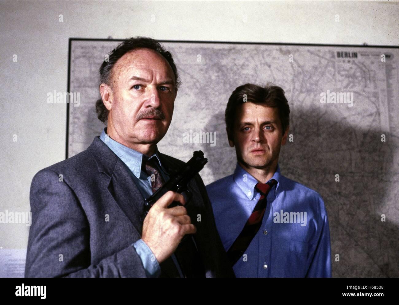 GENE HACKMAN, MIKHAIL BARYSHNIKOV, COMPANY BUSINESS, 1991 - Stock Image