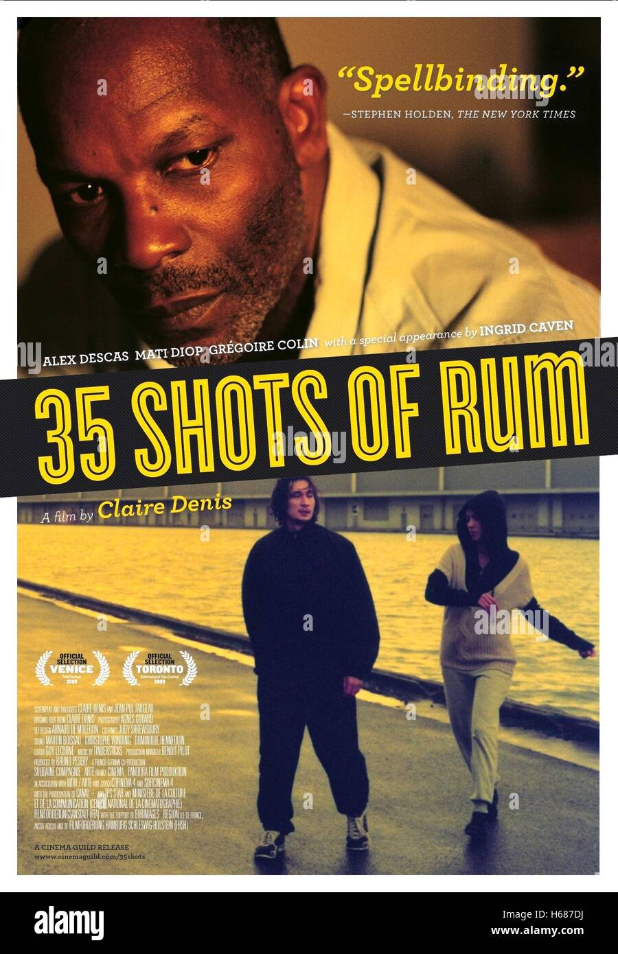 ALEX DESCAS POSTER 35 SHOTS OF RUM; 35 RHUMS (2008) - Stock Image