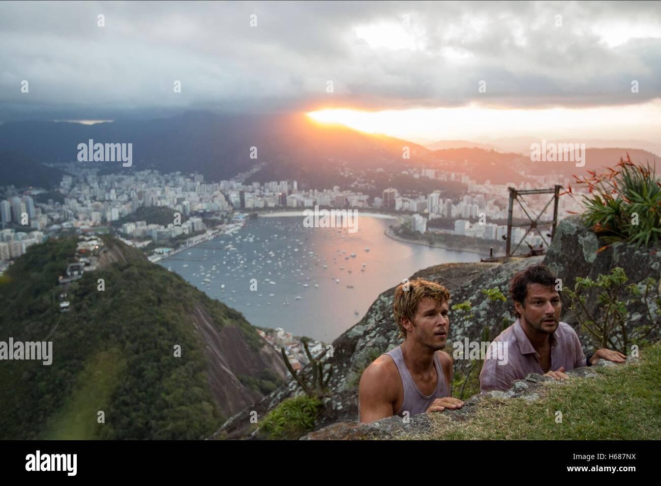 RYAN KWANTEN & MARCELO SERRADO RIO I LOVE YOU; RIO EU TE AMO (2014) - Stock Image
