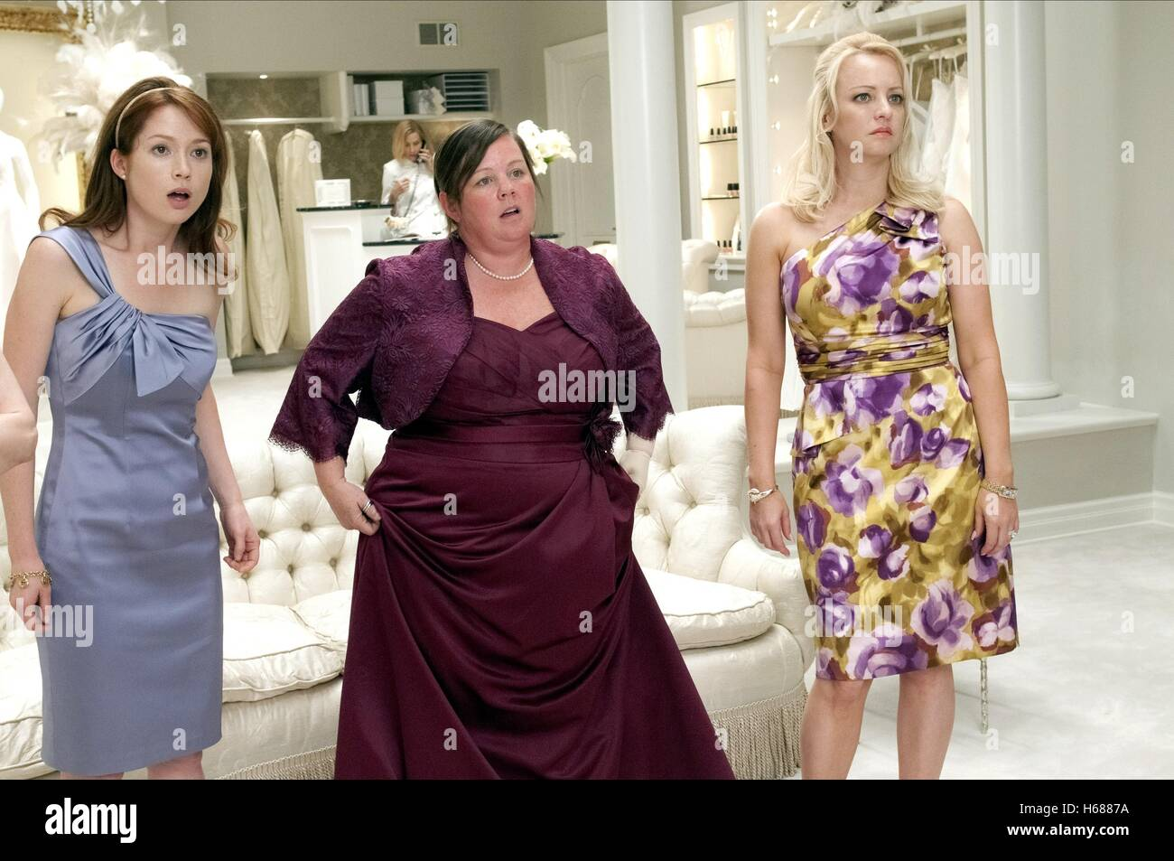 Bridesmaids 2011 High Resolution Stock Photography And Images Alamy