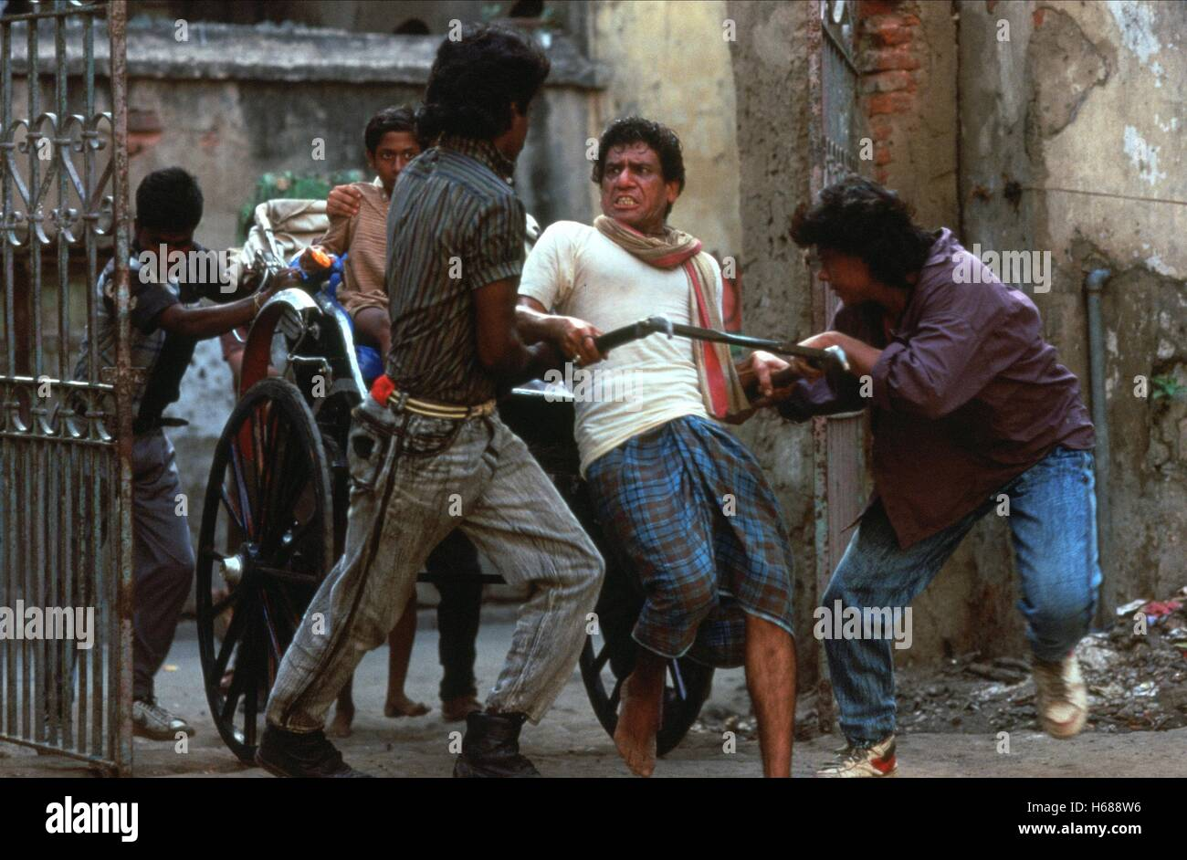 OM PURI CITY OF JOY (1992) - Stock Image