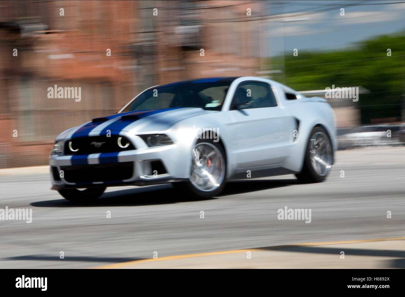 CAR RACE SCENE NEED FOR SPEED (2014 Stock Photo: 124343266 - Alamy