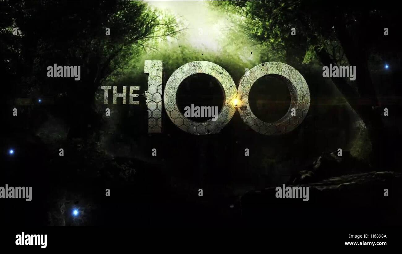 TV SHOW POSTER THE HUNDRED; THE 100 (2014) - Stock Image