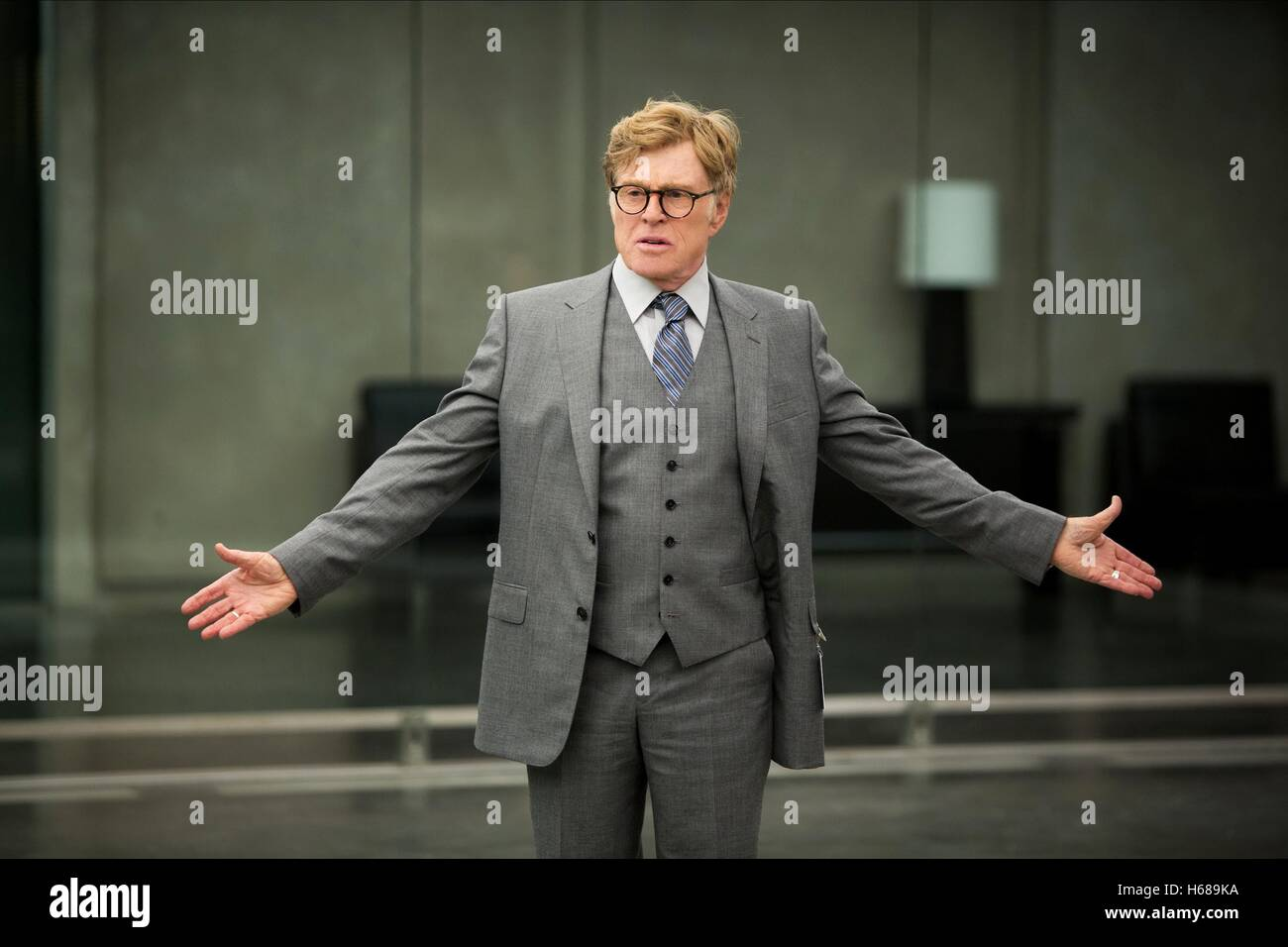 ROBERT REDFORD CAPTAIN AMERICA: THE WINTER SOLDIER (2014) - Stock Image