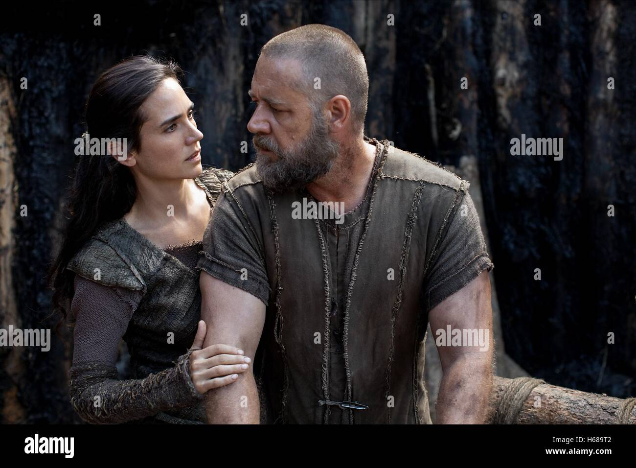 Jennifer Connelly Russell Crowe Noah 2014 Stock Photo Alamy