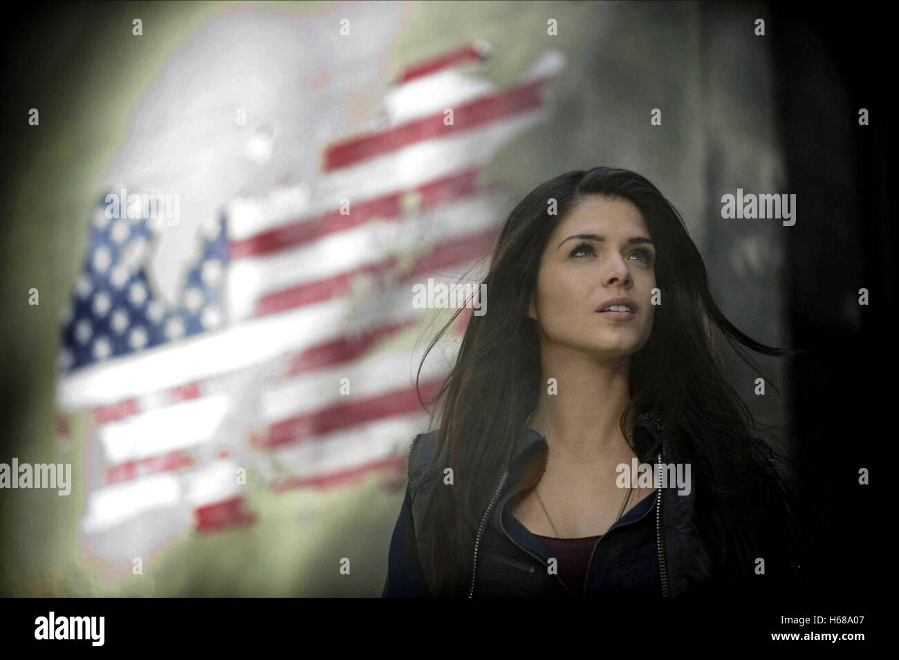 MARIE AVGEROPOULOS THE HUNDRED; THE 100 (2014) - Stock Image