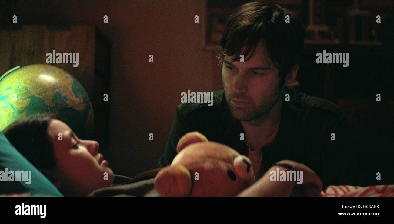 FATIMA PTACEK & SHAWN CHRISTENSEN BEFORE I DISAPPEAR (2014) - Stock Image