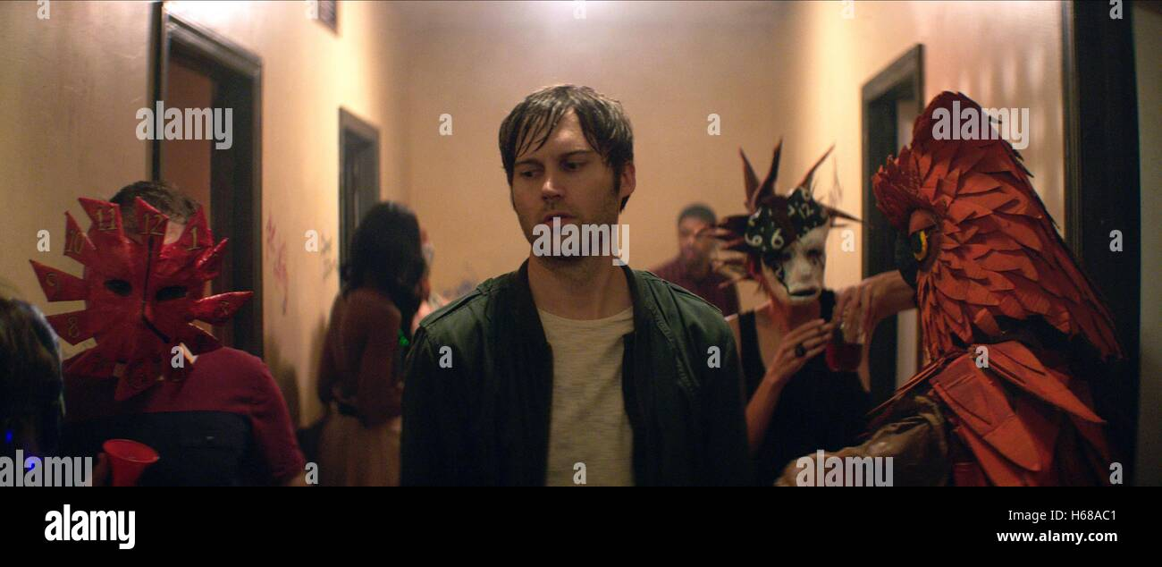 SHAWN CHRISTENSEN BEFORE I DISAPPEAR (2014) - Stock Image