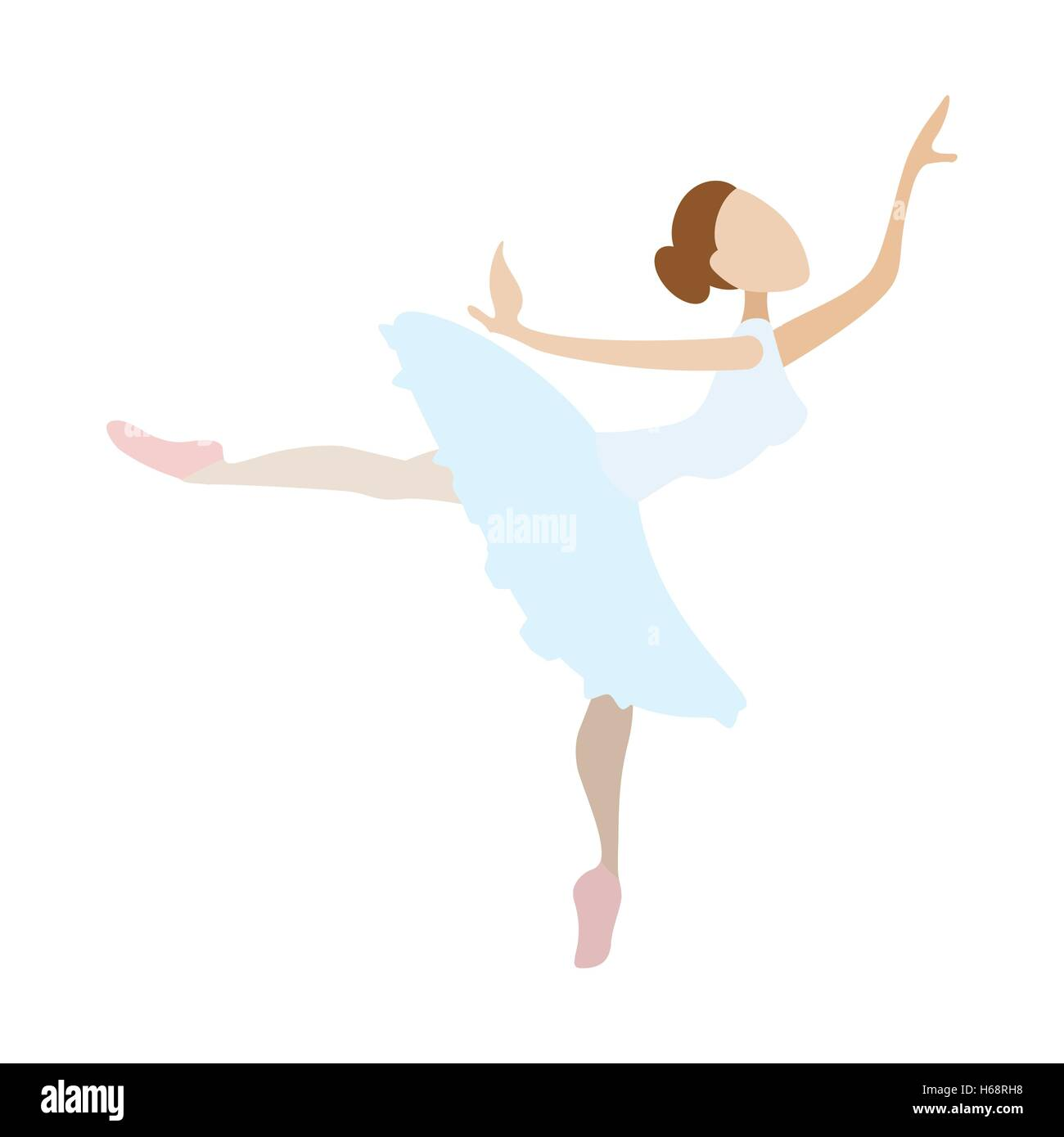 Cartoon Girl Dancing High Resolution Stock Photography And Images Alamy