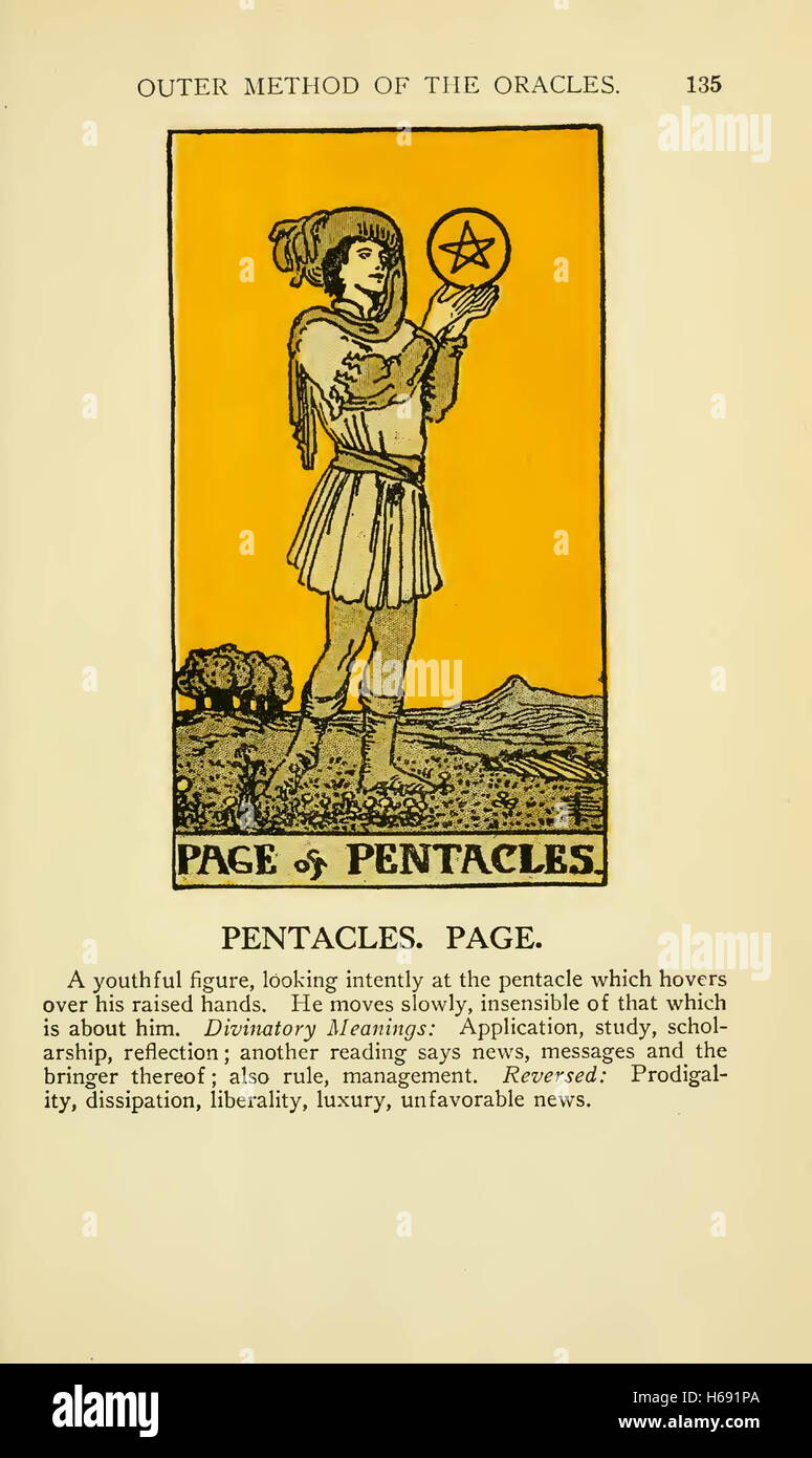 Ace Of Pentacles Stock Photos & Ace Of Pentacles Stock Images - Alamy