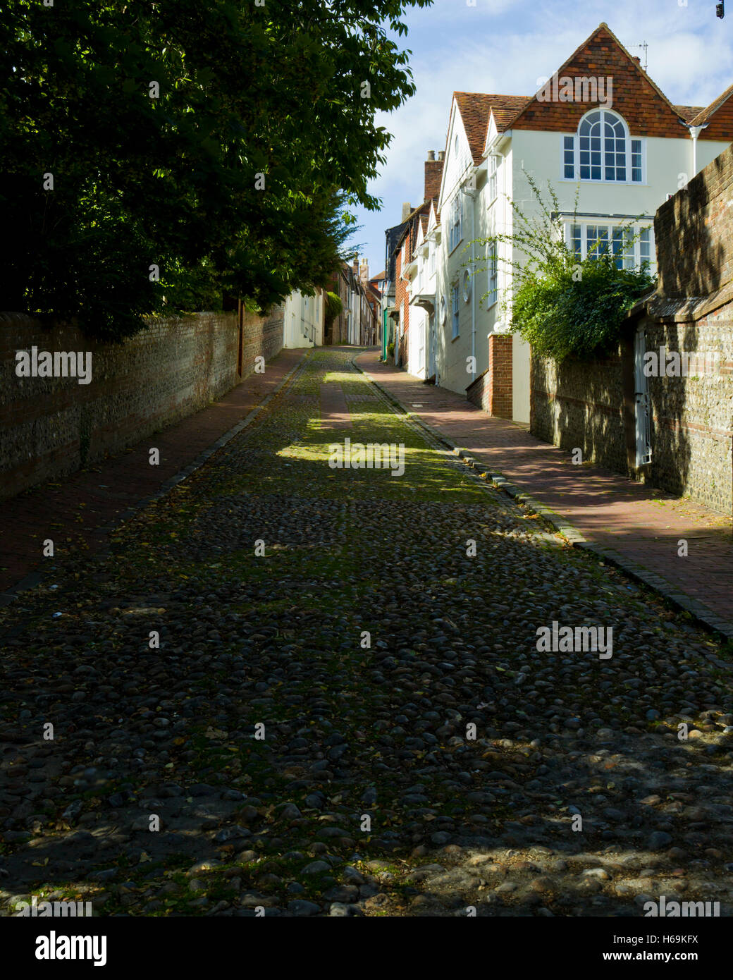 Keere Street Lewes East Sussex England Stock Photo