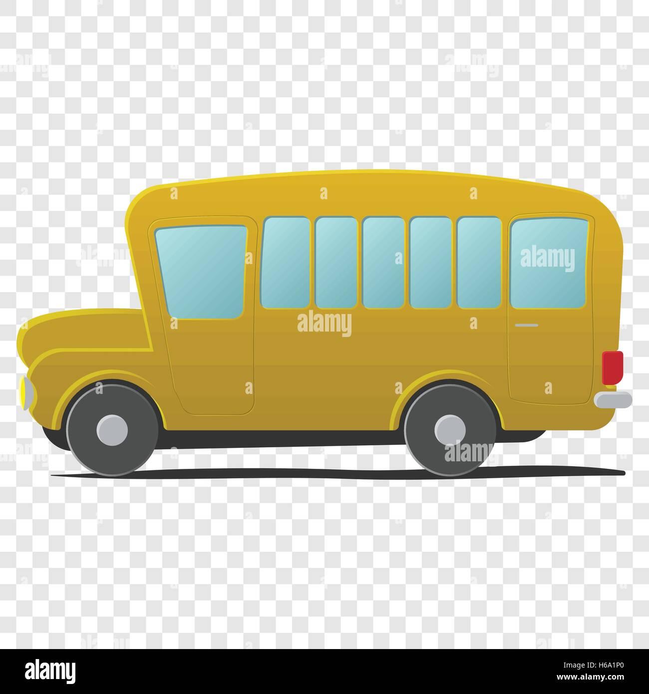 charter school stock vector images alamy rh alamy com Bus Driver Clip Art Shuttle Bus Clip Art