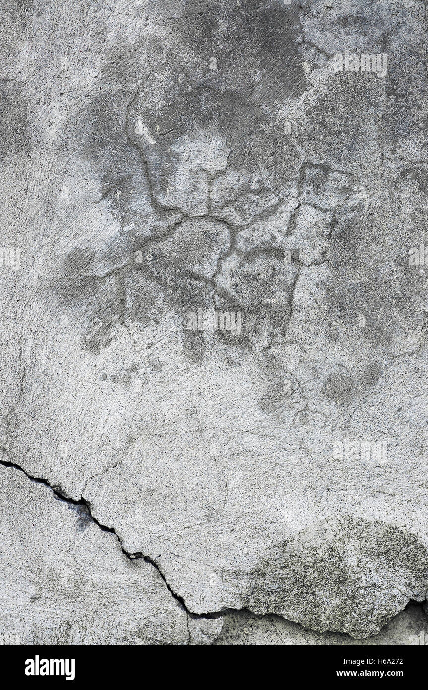 Grunge Gray Wall Stucco Texture Dark Natural Grey Rustic Concrete Plaster Macro Closeup Old Aged Vertical Rough Cracked