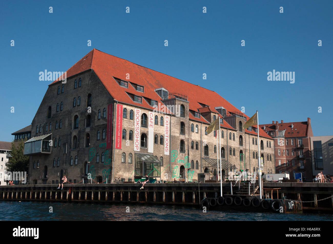 gammel dok, danish architecture center copenhagen - Stock Image