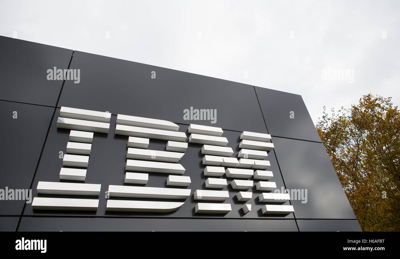 An IBM logo can be seen in