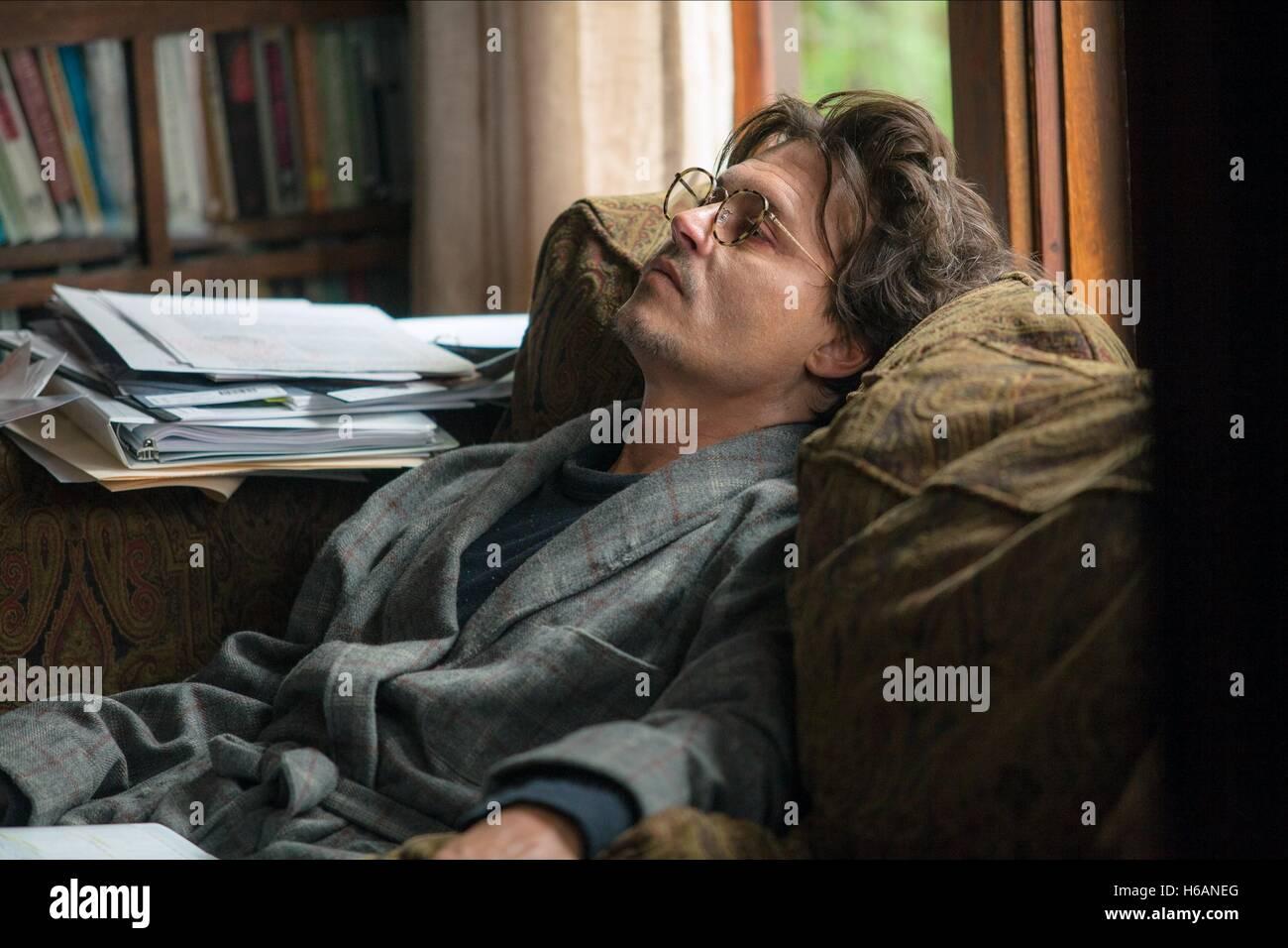 JOHNNY DEPP TRANSCENDENCE (2014) - Stock Image