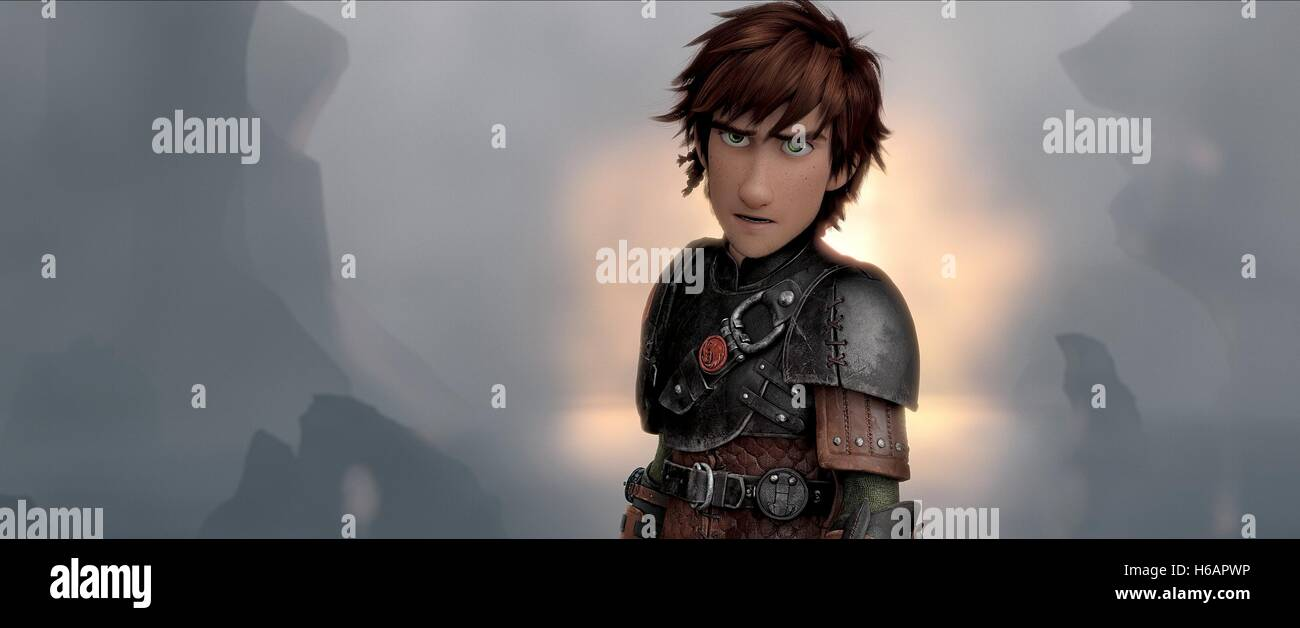 Hiccup How To Train Your Dragon 2 2014 Stock Photo Alamy