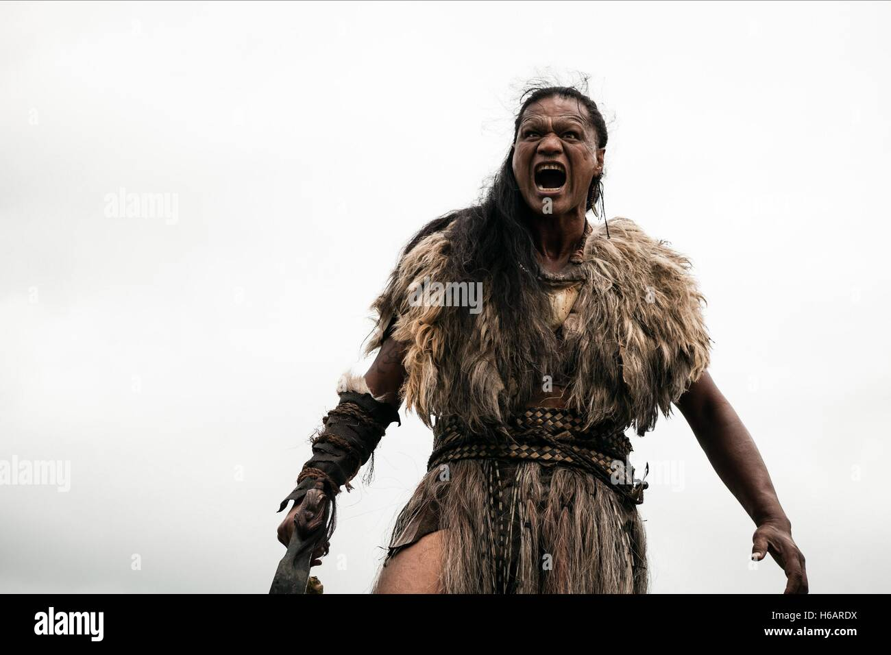 LAWRENCE MAKOARE THE DEAD LANDS (2014) - Stock Image