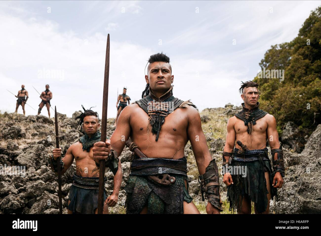 TE KOHE TUHAKA THE DEAD LANDS (2014) - Stock Image