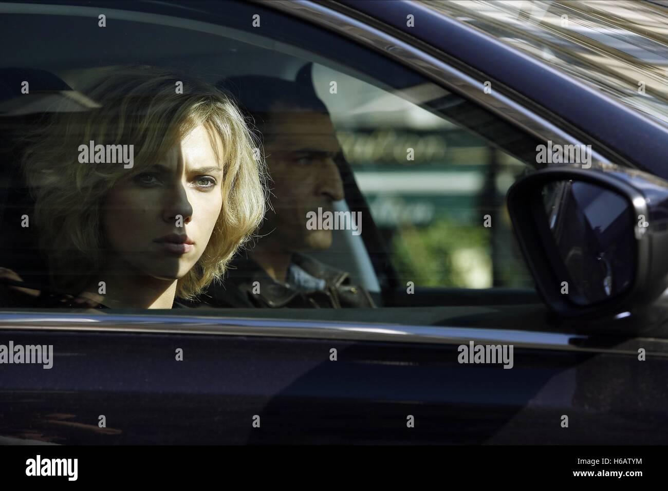 SCARLETT JOHANSSON LUCY (2014) - Stock Image