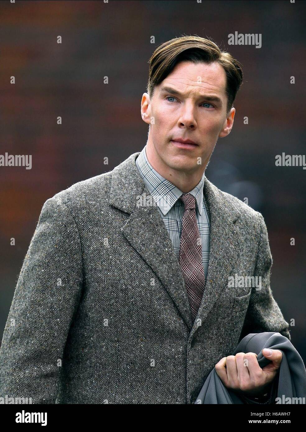 Benedict Cumberbatch The Imitation Game 2014 Stock Photo Alamy