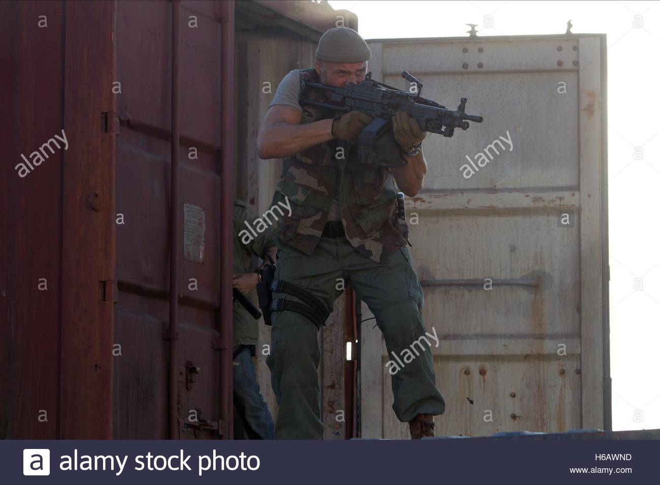 RANDY COUTURE THE EXPENDABLES 3 (2014) - Stock Image