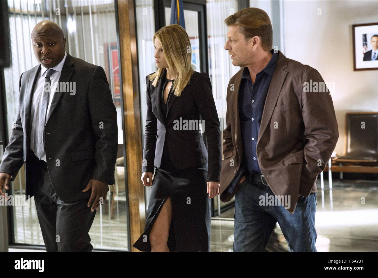 STEVE HARRIS ALI LARTER & SEAN BEAN LEGENDS (2014) - Stock Image