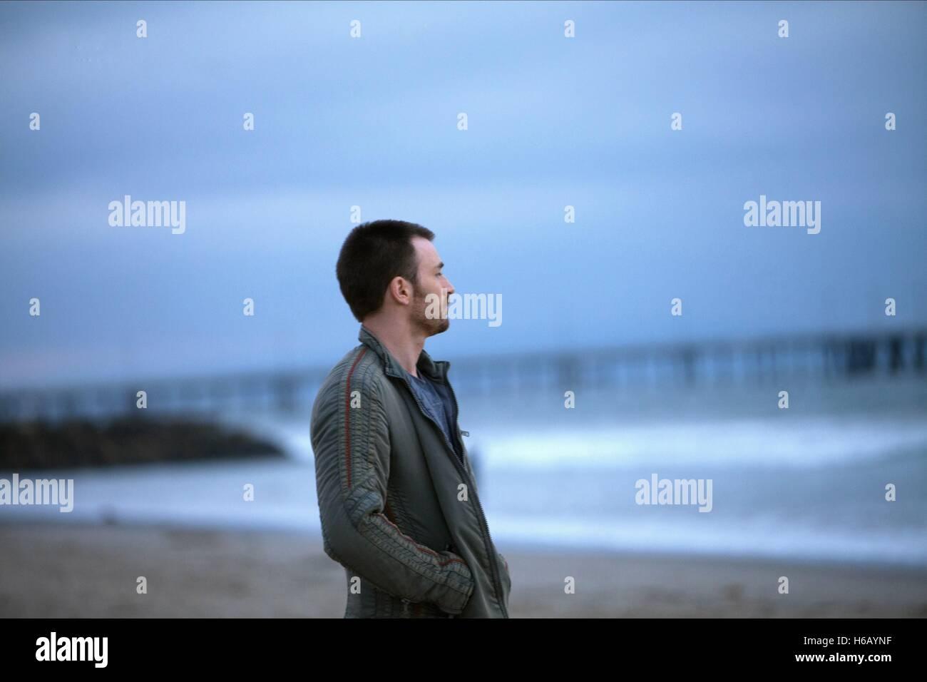 CHRIS EVANS PLAYING IT COOL (2014) - Stock Image