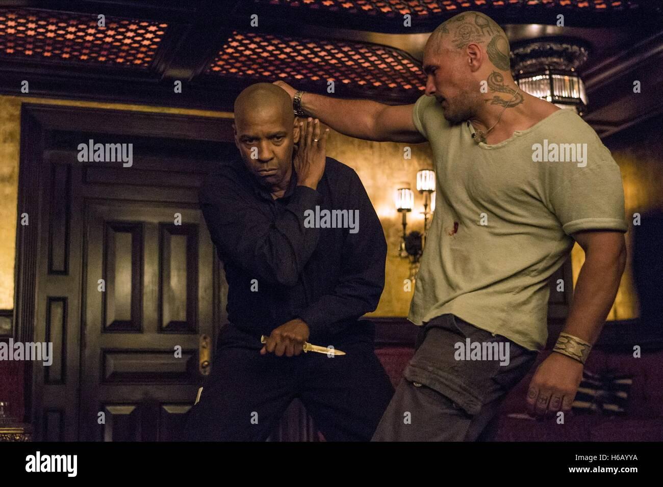 Denzel Washington Tihomir Dukic The Equalizer 2014 Stock Photo Alamy