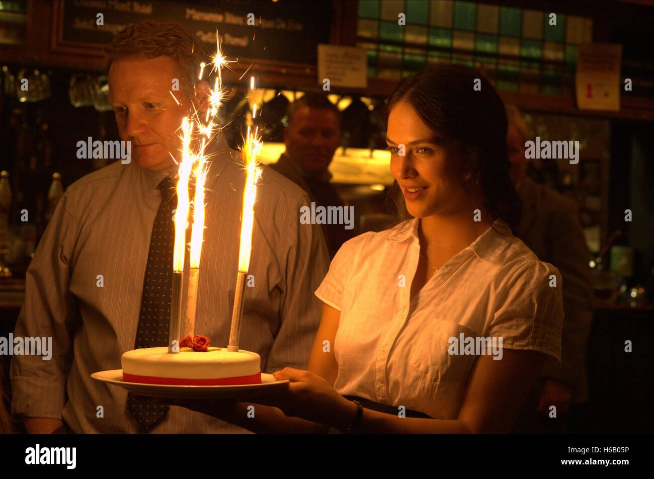 JESSICA BROWN FINDLAY THE RIOT CLUB (2014) - Stock Image