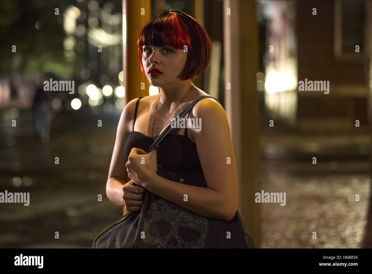 Chloe Grace Moretz The Equalizer 2014 Stock Photo Alamy