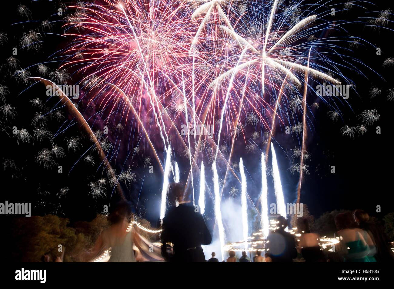 FIREWORK DISPLAY THE THEORY OF EVERYTHING (2014) - Stock Image
