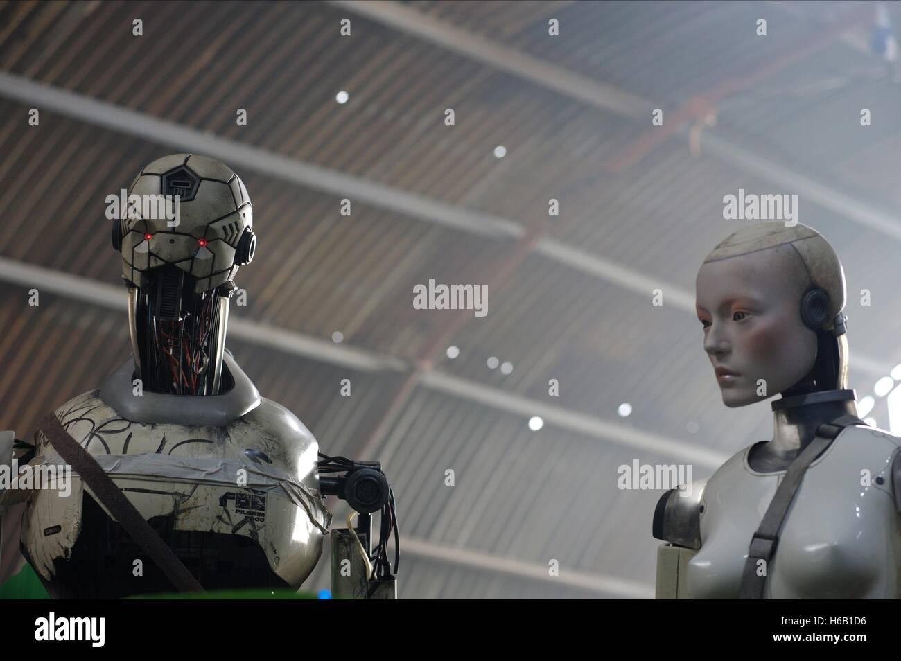 HUMANOID PILGRIM ROBOTS AUTOMATA (2014) - Stock Image