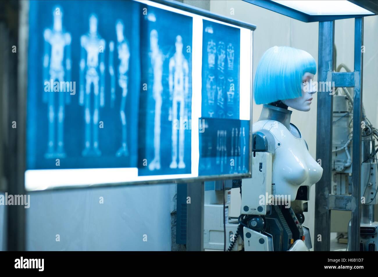 HUMANOID PILGRIM ROBOT AUTOMATA (2014) - Stock Image