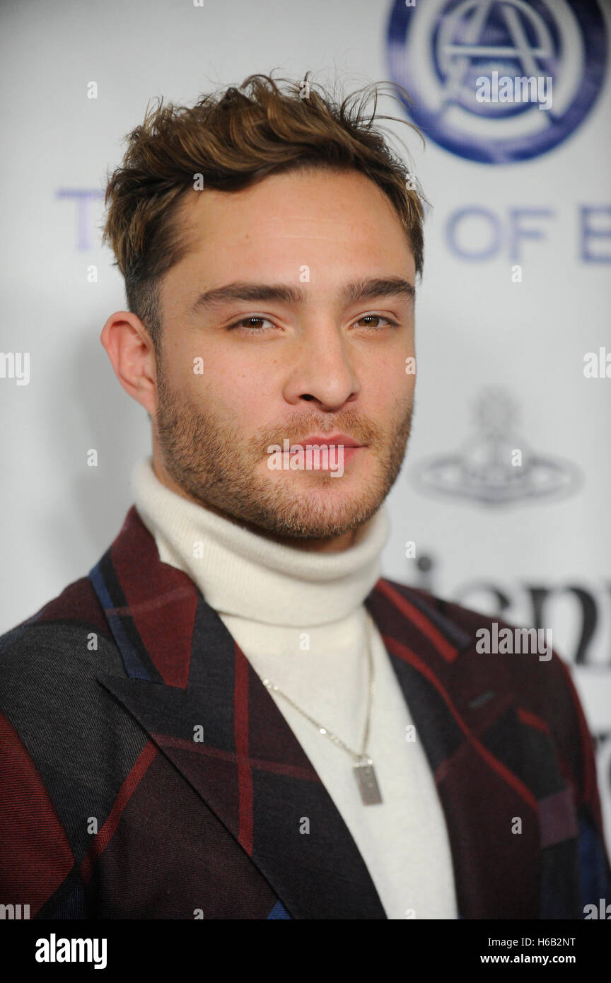 Ed Westwick attends The Art of Elysium 2016 HEAVEN Gala at 3LABS on January 9th, 2016 in Culver City, California. - Stock Image
