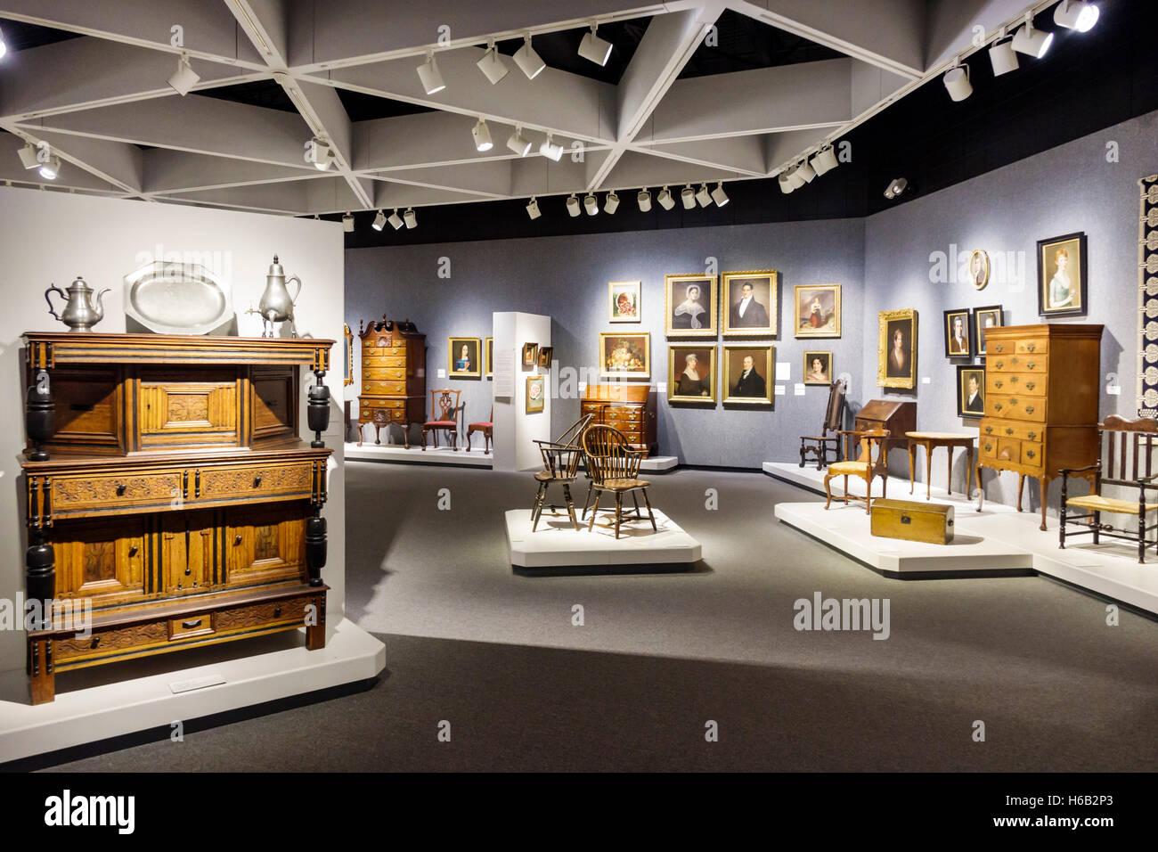 Daytona Beach Florida Museum Of Arts U0026 Sciences MOAS Inside Early Furniture