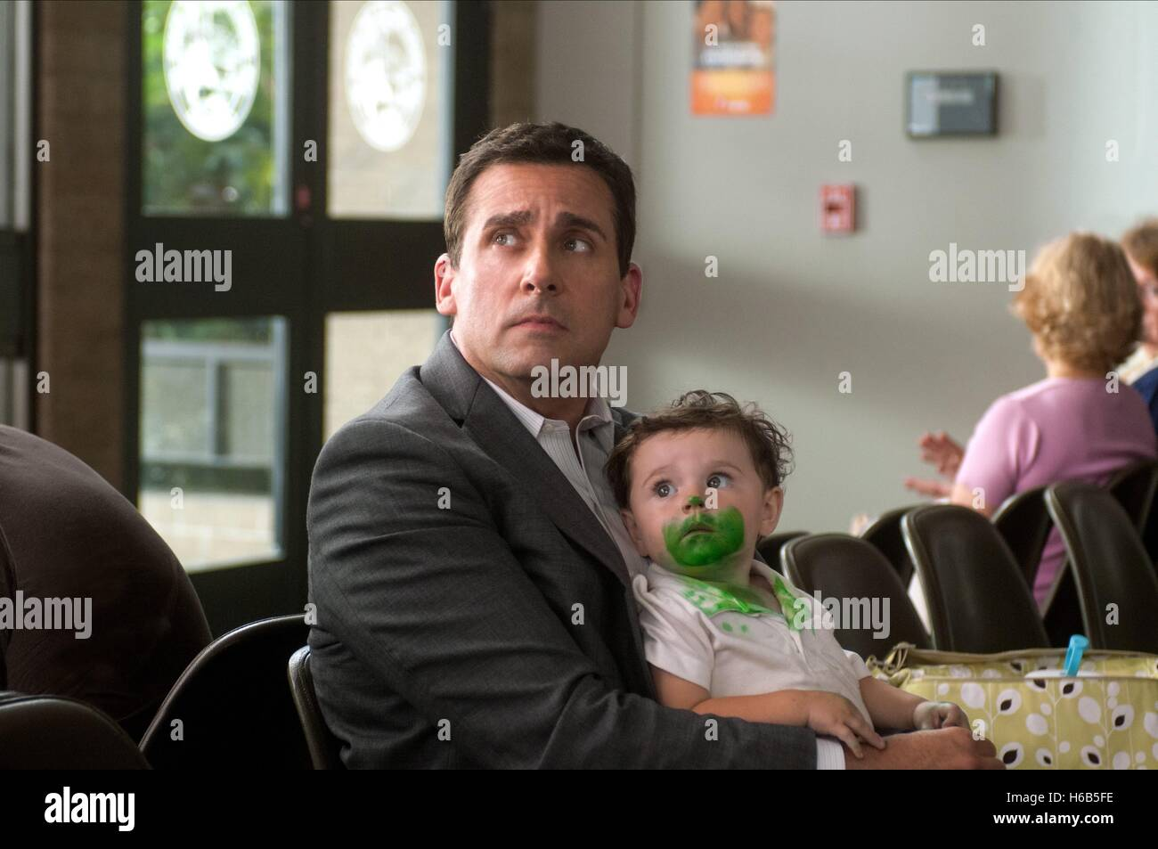 STEVE CARELL ALEXANDER AND THE TERRIBLE HORRIBLE NO GOOD VERY BAD DAY (2014) - Stock Image