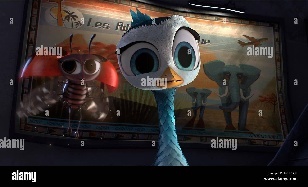 LADYBUG & DELF YELLOWBIRD (2014) - Stock Image