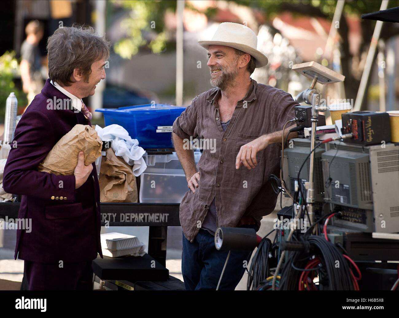 MARTIN SHORT & PAUL THOMAS ANDERSON INHERENT VICE (2014) - Stock Image