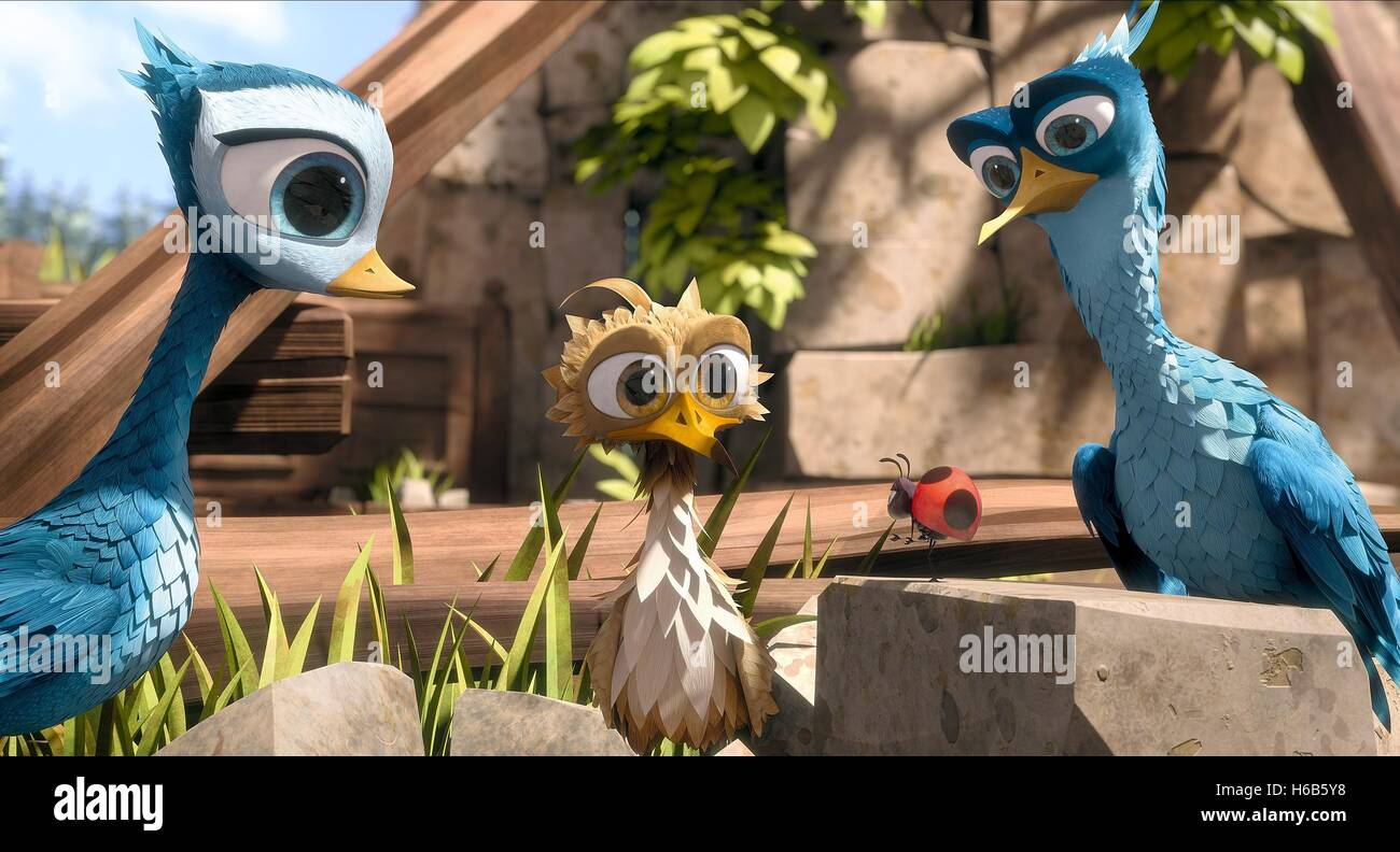 DELF YELLOWBIRD & LADYBUG YELLOWBIRD (2014) - Stock Image