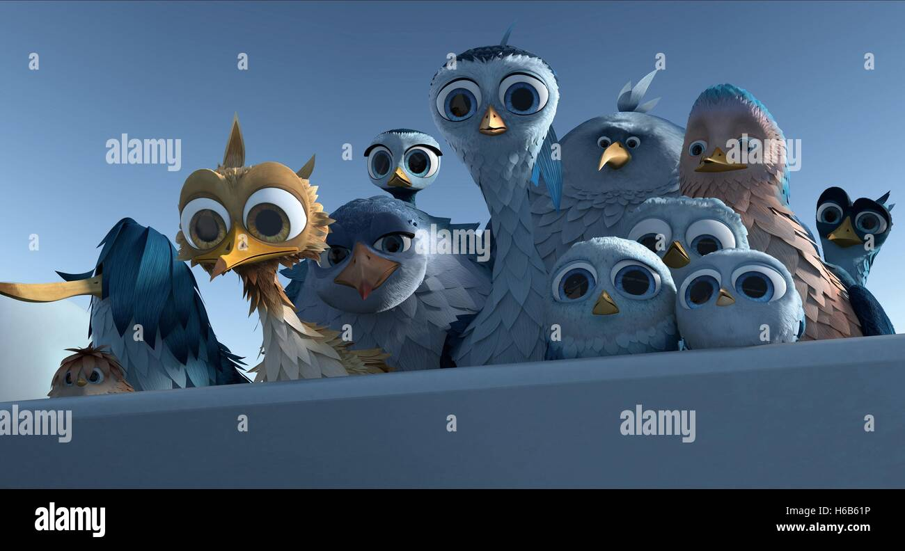 YELLOWBIRD DELF DARIUS LISA ANTON & GIGI YELLOWBIRD (2014) - Stock Image