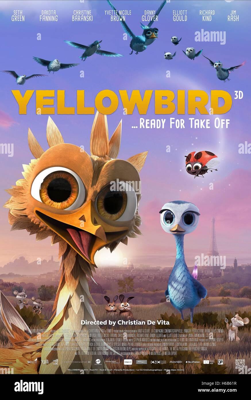 YELLOWBIRD DELF & LADYBUG POSTER YELLOWBIRD (2014) - Stock Image
